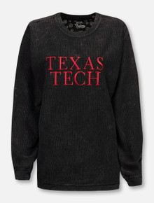 "Pressbox Texas Tech Red Raiders ""Alumni Emb"" Corduroy Long Sleeve"