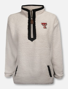 "Pressbox Texas Tech Red Raiders Red ""Northfolk Lumi"" 1/4 Zip Pullover"