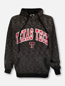 Texas Tech Red Raiders Arch over Double T Marbled Hoodie