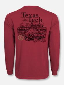 "Texas Tech Red Raiders ""Art of a Vineyard"" Long Sleeve T-Shirt"