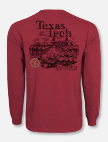 "Texas Tech Red Raiders ""Art of a Vineyard"" Long Sleeve T-Shirt"