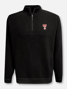 "Tommy Bahama Texas Tech Red Raiders ""Sport Nassau"" 1/4 Zip Pullover"