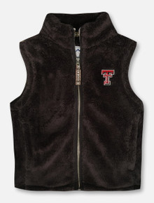 Summit Texas Tech Red Raiders YOUTH Plush Full Zip Vest