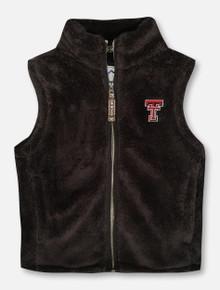 Summit Texas Tech Red Raiders YOUTH Plush Full Zip Vest