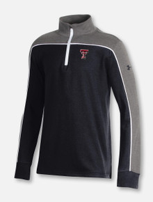 "Under Armour Texas Tech Red Raiders ""CC Tricolor"" YOUTH 1/4 Zip Pullover"