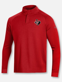 "Under Armour Texas Tech Red Raiders ""Doubleknit Pride"" 1/4 Snap Pullover"