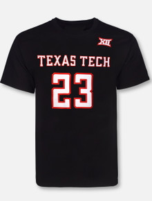 Retro Brand Texas Tech Red Raiders Jarett Culver #23 T-Shirt