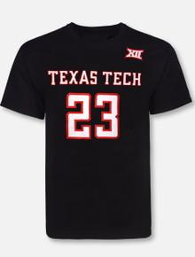 Retro Brand Texas Tech Red Raiders Jarett Culver #23 T-Shirt
