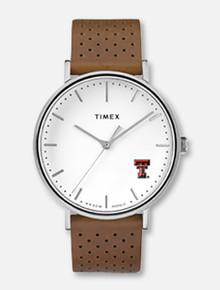 "Timex Texas Tech Red Raiders ""Bright White"" Women's Watch"