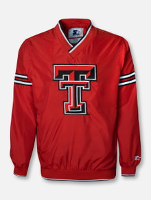 "Starter Texas Tech Red Raiders ""Trainer"" Pullover Jacket"