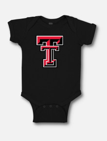 Texas Tech Red Raiders Large Double T INFANT Onesie
