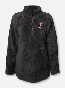 "Charles River Texas Tech Red Raiders ""Newport"" MOM Fleece 1/4 Zip Pullover"
