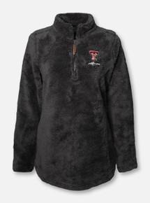 "Charles River Texas Tech Red Raiders ""Newport"" MOM Fleece 1/4 Zip Pullover"