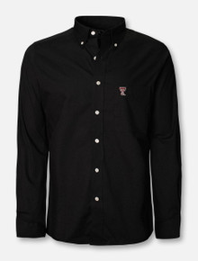 "Antigua Texas Tech Red Raiders ""Dynasty"" Long Sleeve Dress Shirt"
