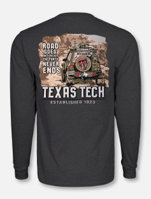 "Texas Tech Red Raiders ""Off-Roading"" Lone Star Pride Long Sleeve T-Shirt"