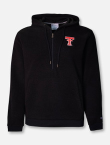 "Champion Texas Tech Red Raiders ""Throwback Sherpa"" 1/4 Zip Pullover"