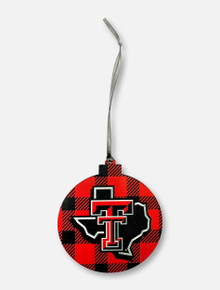Legacy Texas Tech Red Raiders Lone Star Pride Buffalo Pride Wooden Ornament