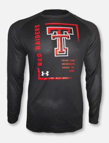 """Under Armour Texas Tech Red Raiders """"Square Root"""" Long Sleeve T-Shirt"""