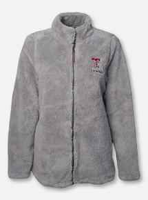 "Charles River Texas Tech Double T Grandma ""Newport"" Fleece Full Zip Jacket"