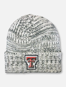 New Era Texas Tech Red Raiders Double T Patch Cuff Beanie