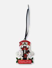 """Texas Tech Red Raiders """"Nutcracker with Horse"""" 2019 Collector's Ornament"""