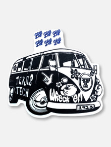 "Texas Tech Red Raiders ""Major Revamp Bus"" Decal"