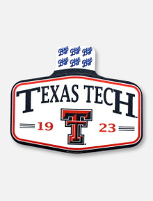"""Texas Tech Red Raiders """"Founder's Day"""" Decal"""