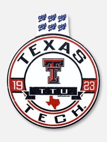 "Texas Tech Red Raiders ""Bixby"" Decal"