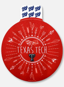 "Texas Tech Red Raiders ""Arrowing"" Decal"