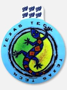 "Texas Tech Red Raiders ""Island Gecko"" Decal"