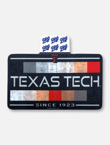 "Texas Tech Red Raiders ""Litmus Paper"" Decal"