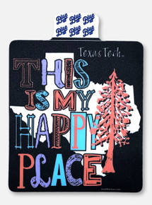 "Texas Tech Red Raiders ""This Is My Happy Place"" Decal"