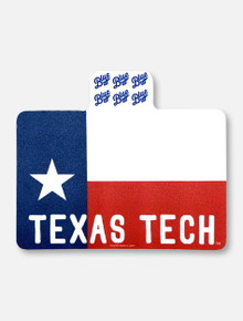 "Texas Tech Red Raiders Lonestar State ""Home Flag"" Decal"