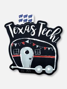 "Texas Tech Red Raiders ""Amerigo"" Decal"