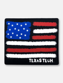 "Texas Tech Red Raiders ""Harsh Turn Soft Flag"" Decal"