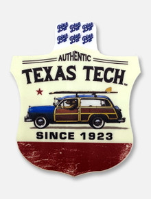 "Texas Tech Red Raiders ""Liberty Bell Lifestyle"" Decal"