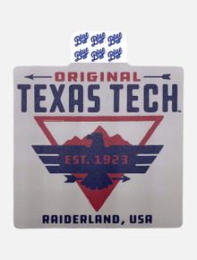 "Texas Tech Red Raiders ""Ardor"" Decal"