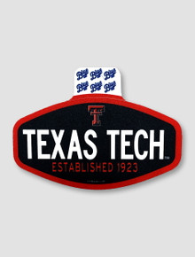 """Texas Tech Red Raiders """"Journalistic"""" Decal"""