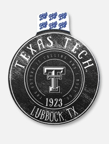 "Texas Tech Red Raiders ""Hopscotch Minted"" Decal"