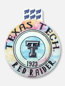 "Texas Tech Red Raiders ""Hopscotch Pastel"" Decal"