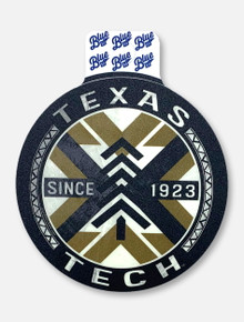 "Texas Tech Red Raiders ""Meeko Pine"" Decal"