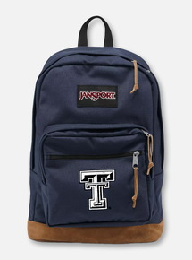"Jansport Texas Tech Red Raiders ""Right Pack"" Navy Backpack"