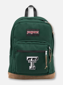 "Jansport Texas Tech Red Raiders ""Right Pack"" Pine Grove Backpack"
