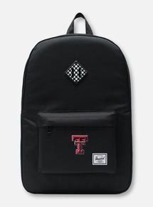 "Herschel Texas Tech Red Raiders ""Checkerboard"" Black Backpack"