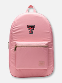 "Herschel Texas Tech Red Raiders ""Rosette Settlement Lt"" Mauve Backpack"