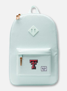 "Herschel Texas Tech Red Raiders ""Heritage Glacier"" Mint Backpack"