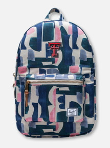 "Herschel Texas Tech Red Raiders ""Abstract"" Khaki Backpack"