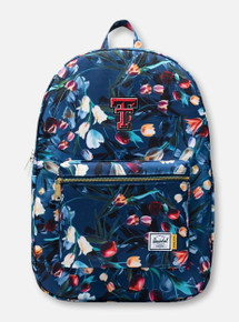 "Herschel Texas Tech Red Raiders ""Royal Hoffman Tulips"" Blue Backpack"