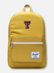 "Herschel Texas Tech Red Raiders ""Arrow-Wood Pop Quiz"" Mustard Backpack"