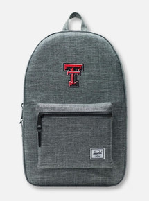 "Herschel Texas Tech Red Raiders ""Raven X Settlement"" Charcoal  Backpack"